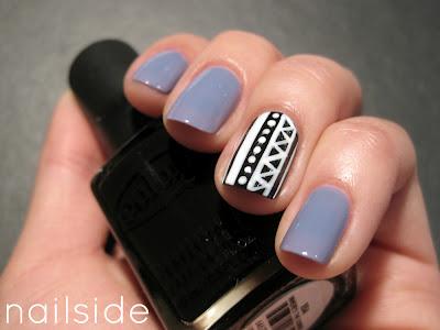 nails_tribal black white 1